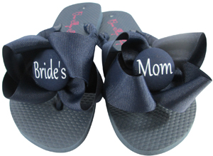 Mother of the Bride & Groom Flip Flops
