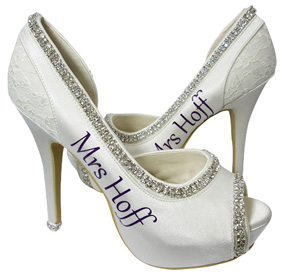 Customized Bridal High Heels
