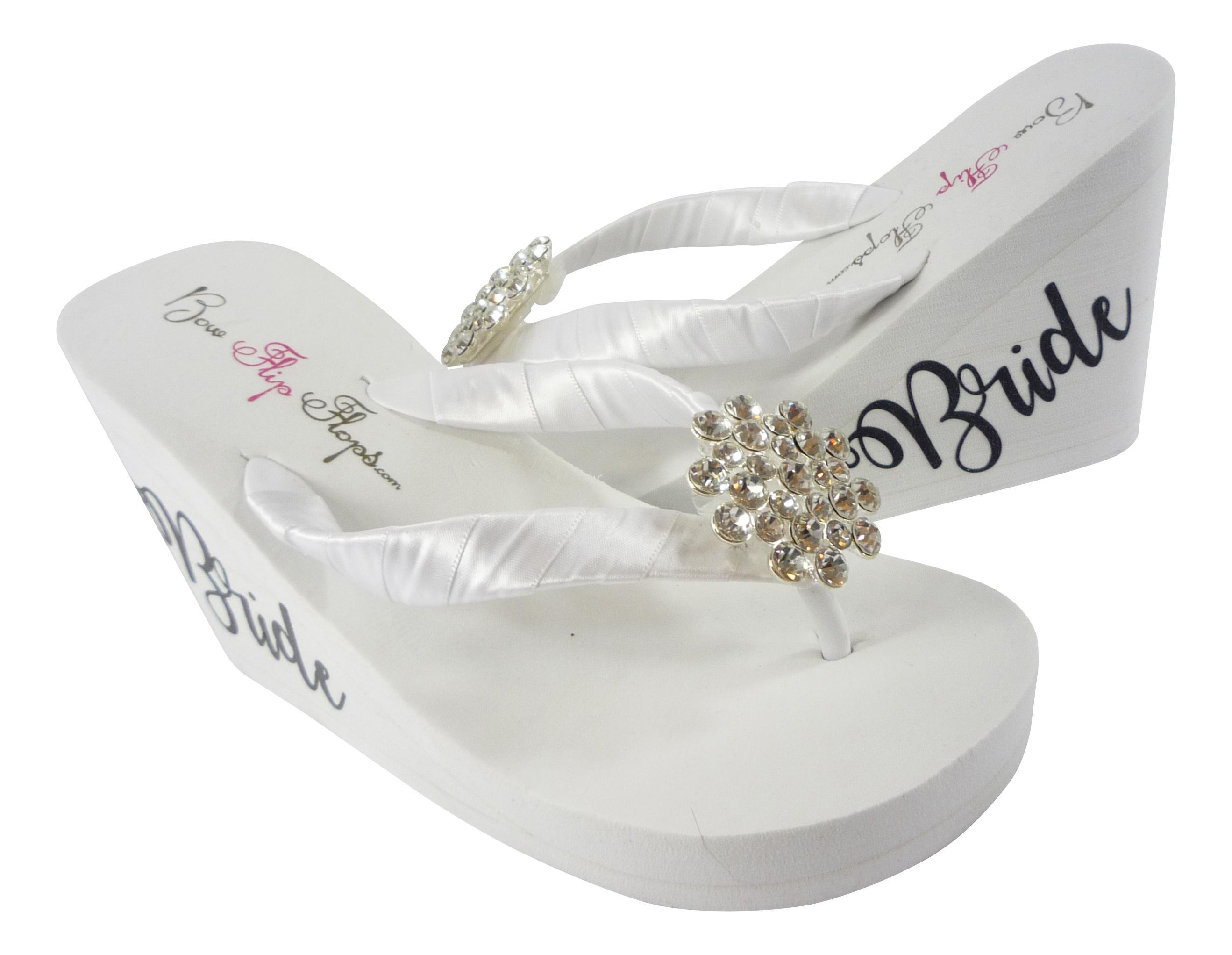 cff55cd21c90 Wedding Flip Flops for Brides