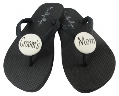 Groom's Mom Flip Flops, Choose your Colors MOBG2