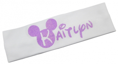 Lavender Disney Bling Headband, Personalized/ Many Colors