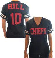 Customizable Football Glitter Jersey Shirt