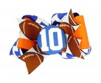 Customizable Football or any Sport Hair Bow