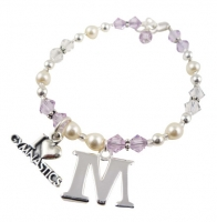 Purple Gymnastics Bracelet / choose colors
