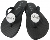 Bride's Mom/Groom's Mom Flip Flops, Choose your Colors MOBG1