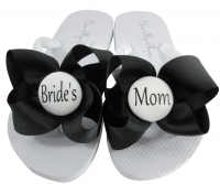 Design your own Mother of the Bride Flip Flops, Choose your Colors MOBG48