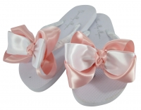 Light Pink Bridesmaid Flip Flops