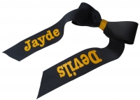 Cheer Bow with Personalized Name